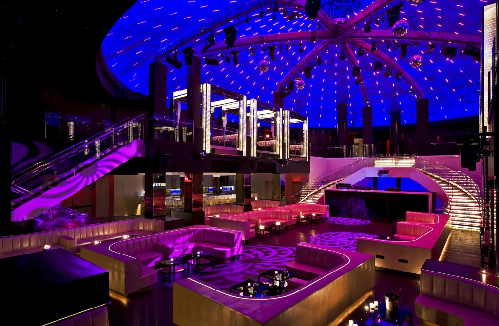 Inside Top Nightclub, LIV in Miami